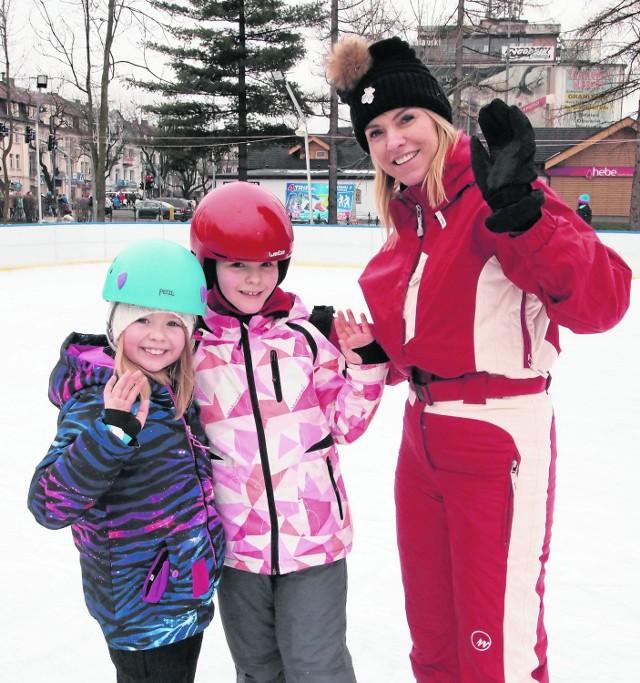 Turyści z Warszawy kochają ślizgać się na lodowiskach w górach
