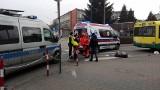 Ostrołęka. Śmiertelne potrącenie na ul. Gocłowskiego. Nie żyje mężczyzna [ZDJĘCIA]