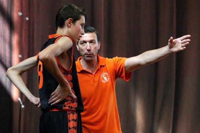 Trener Branko Klisović wraz ze Zvonimirem Ivisiciem (z lewej)