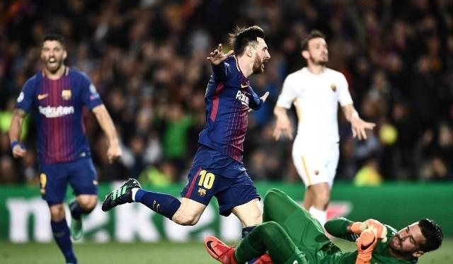 Barcelona - Roma 4:1 Wszystkie bramki Youtube 04.04.2018 Zobacz gole, skrót meczu, bramki online