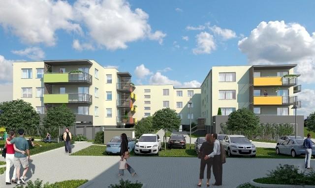 Na kieleckim osiedlu Panorama już w październiku będą odda-ne do zamieszkania dwa nowe trzykondygnacyjne budynki, któ-rych budowa właśnie ruszyła.