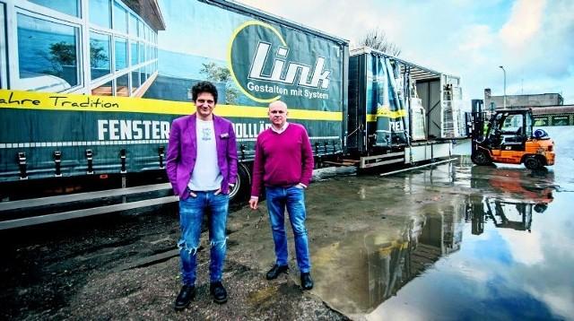 - Przyjmiemy ludzi  chętnych do pracy - mówią Ireneusz Gabryś (z lewej) i Andrzej Hondo