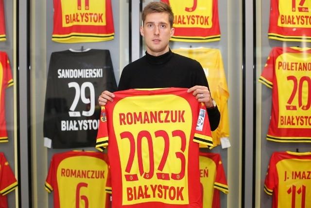 Teras Romanczuk przedłużył kontrakt z Jagiellonią Białystok