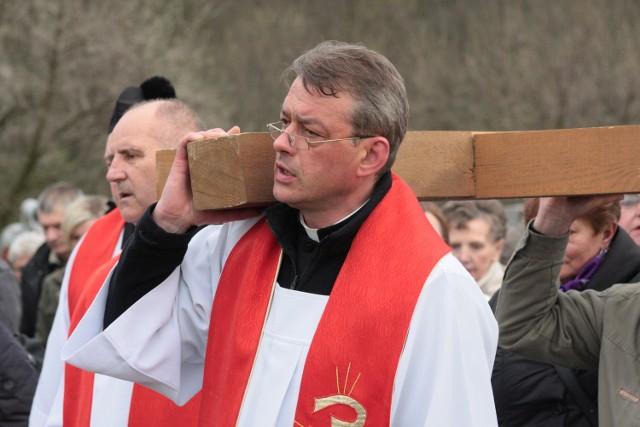 Przed Wielkanocą na Kalwarii odbywają się procesje.