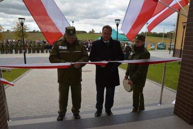 Straż Graniczna w Nowym Dworze ma nowy budynek. Na otwarciu był Jarosław Zieliński