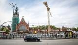 Remont dworca PKP Gdańsk Główny. Trwa wymiana pokrycia dachu w północnej części budynku [zdjęcia]