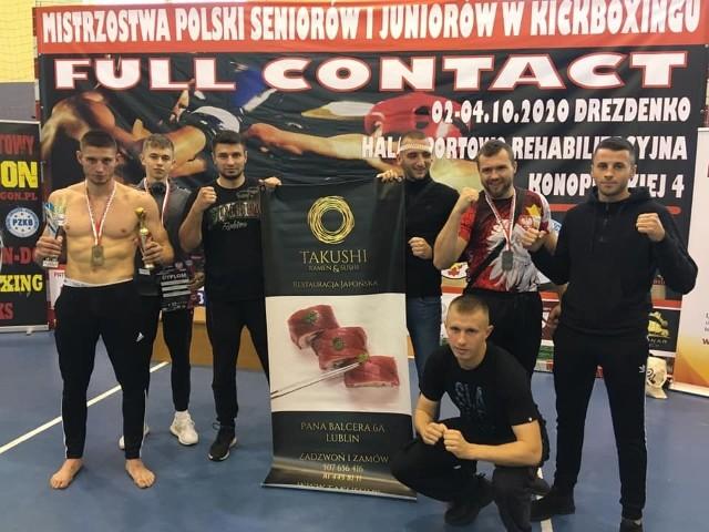 Ekipa Walecznej Lubelszczyzny Lublin zdobyła w Drezdenku cztery medale