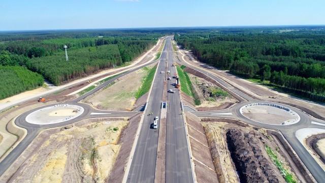 Budowa S19 na odcinku węzeł Lasy Janowski - węzeł Nisko.
