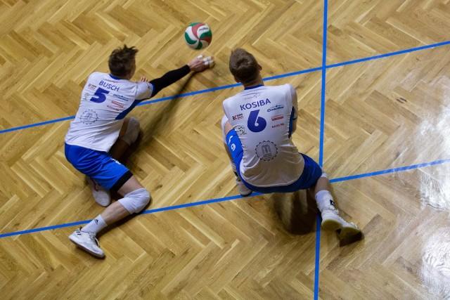 Fragment meczu, Gwardia - Buskowianka.