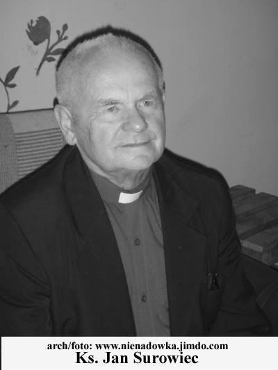 W środę (3 stycznia) zmarł ks. Jan Surowiec, emerytowany kapłan diecezji zielonogórsko-gorzowskiej.
