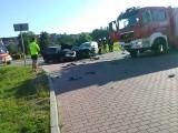Zakopianka. Poważny wypadek w Klikuszowej. Zderzyły się dwa samochody [ZDJĘCIA]