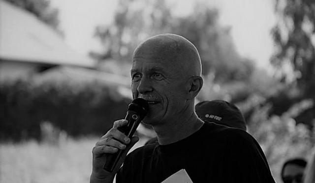 Adam Protasiewicz kochał sport. Obok Magdalena Falkowska i Dariusz Strychalski. Zdjęcie z finału Grand Prix Bindugi