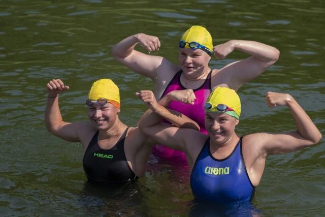 Na plaży w Strzeszynku w niedzielę pojawiło się ponad 100 zawodników, by wziąć udział w Mistrzostwach Wielkopolski i drugiej edycji Grand Prix Wielkopolski w Pływaniu Długodystansowym.