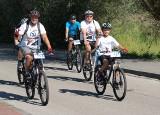 """Rajd rowerowy """"Kujawsko-Pomorskie na rowery"""" w Świeciu [zdjęcia]"""