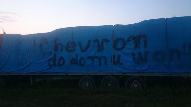 Po 399 dniach protestów Chevron opuszcza Żurawlów.