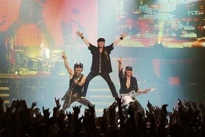 """Zespół """"Scorpions"""". Materiały Agencji Prestige MJM."""