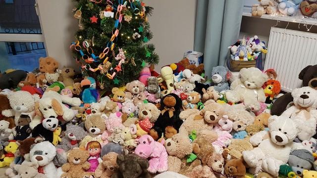 Podaruj Misia Ratownisia w Białymstoku. Dobry Adres przeprowadził wielką akcję zbierania pluszowych misiów dla służb ratunkowych