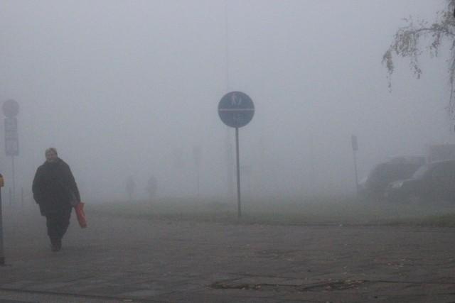 Mgły mogą  ograniczać widoczność