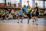 I liga piłkarzy ręcznych. Na inaugurację sezonu AZS AGH Kraków przegrał z Unimetalem Recycling MTS Chrzanów [ZDJĘCIA]