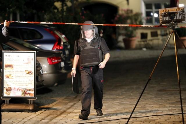W zamachu bombowym w Ansbach w pobliżu Norymbergi 12 osób zostało rannych