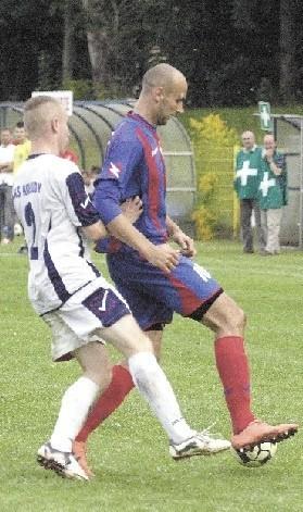 Łukasz Stasiak był najskuteczniejszym piłkarzem Gryfa w rundzie jesiennej.