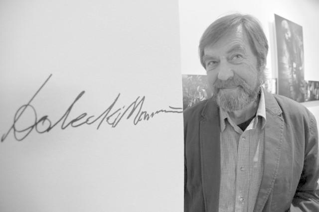 Marek Dolecki nie żyje. Ostatnią autorska wystawa w Białymstoku miała miejsce 13 kwietnia 2012 roku.