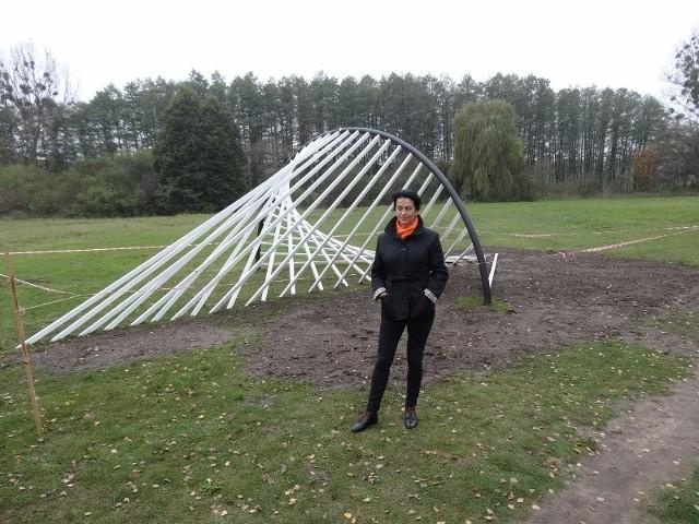 Nad jeziorem w Strzeszynku pojawiła się nowa rzeźba