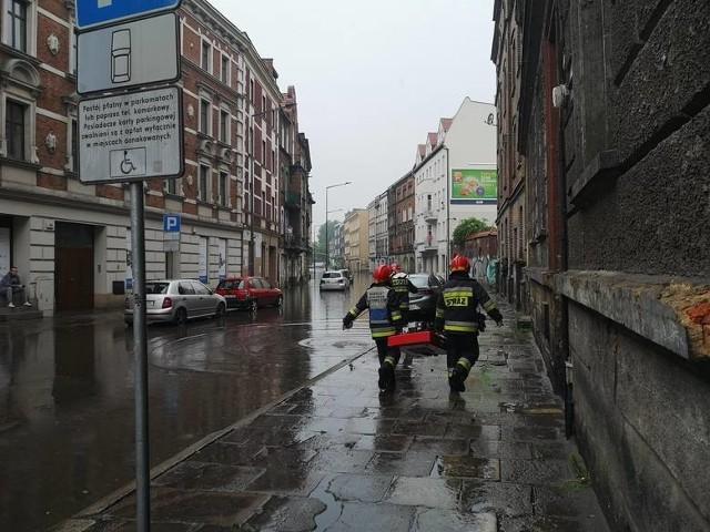 Nad woj. śląskim przeszła gwałtowna burza