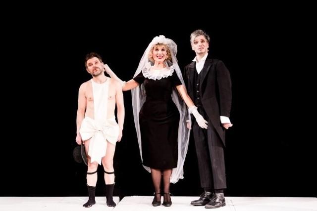 Spektakl z Katarzyną Herman, Jackiem Braciakiem i Michałem Sitarskim to jedna z propozycji na walentynkowy weekend.