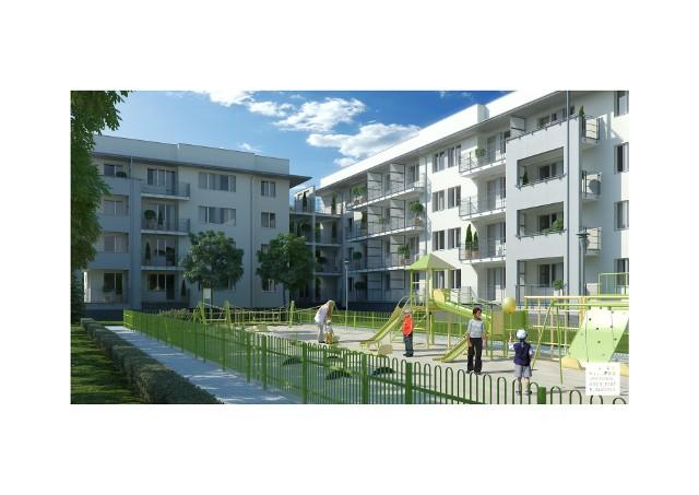 Nowe blokiTak mają wyglądać nowe bloki przy ul. Bora-Komorowskiego w Fordonie