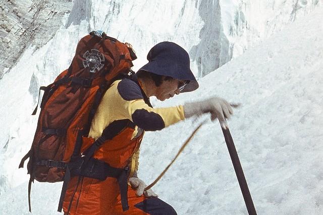 Junko Tabei w 1985 roku.Przejdź do kolejnych zdjęć, używając strzałki w prawo lub przycisku NASTĘPNE.Licencja zdjęcia: https://creativecommons.org/licenses/by-sa/4.0/deed.pl