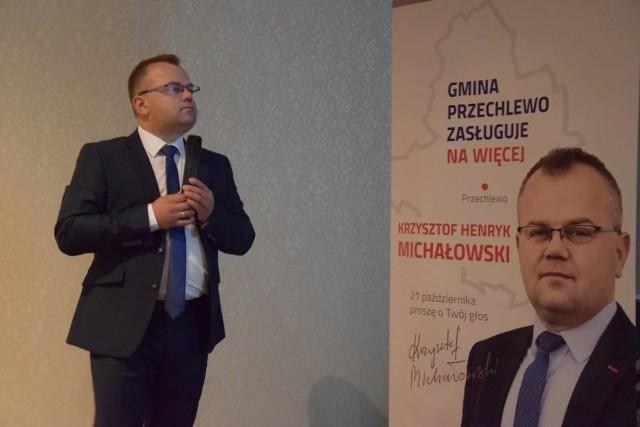 Krzysztof Michałowski nowym wójtem gminy Przechlewo