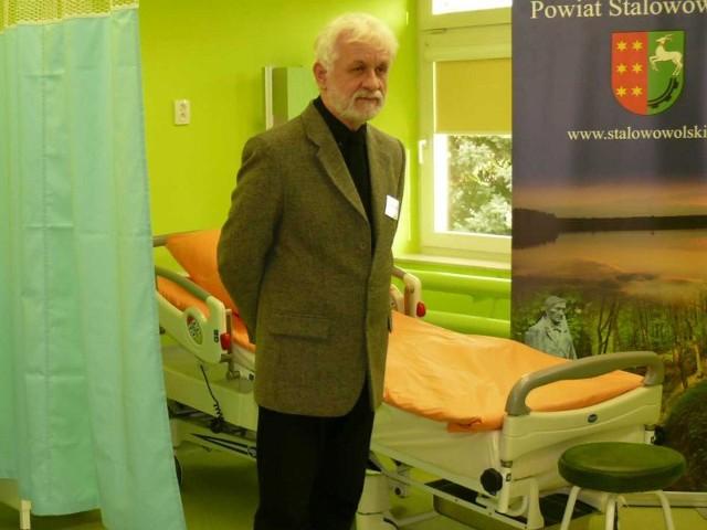Pełniący obowiązki dyrektora szpitala Roman Ryznar stanął do konkursu na stanowisko dyrektora szpitala.
