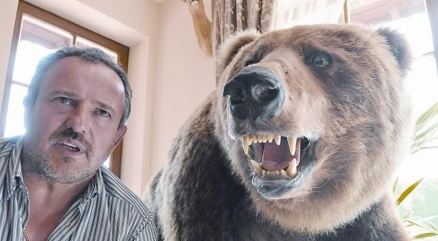 Żeby upolować tego niedźwiedzia, Kazimierz Barczuk spędził na Kamczatce ponad dwa tygodnie.
