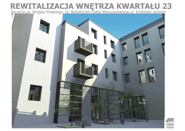 Nowy kwartał w środku SzczecinaPierwsze prace budowlane rozpoczną się jesienią. Budynki będą gotowe pod koniec 2014 roku.