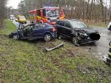 Wypadek w Kobylarni koło Bydgoszczy. Zabrakło karetek, lądował śmigłowiec LPR
