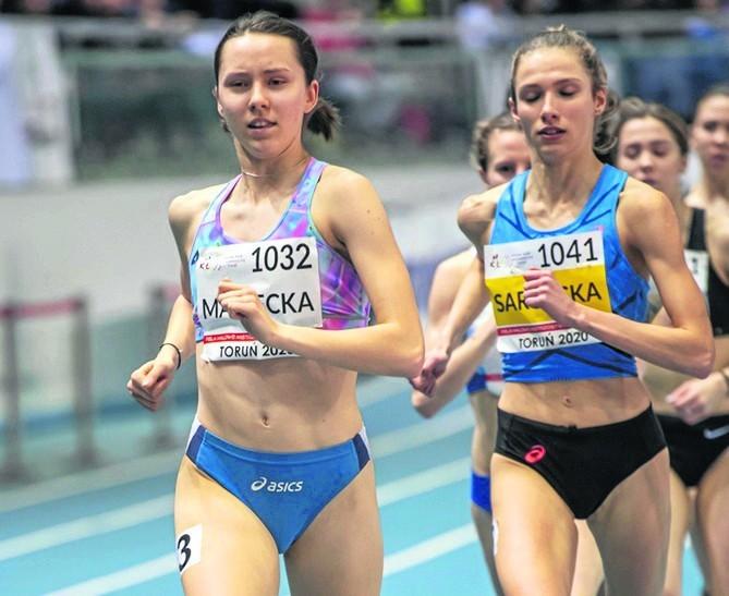 Oliwia Sarnecka wzorowo taktycznie rozwiązała bieg na 1500 m i na finiszu miała ogromną przewagę