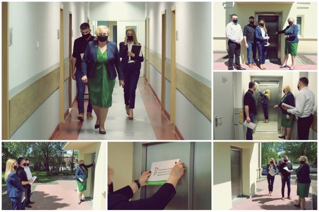 - Dotychczasowe rozwiązania nie pozwalały na niezależne funkcjonowanie osób z niepełnosprawnościami i stanowiły poważną barierę w dostępności do budynku starostwa - podkreśla starosta Wiesława Pawłowska.