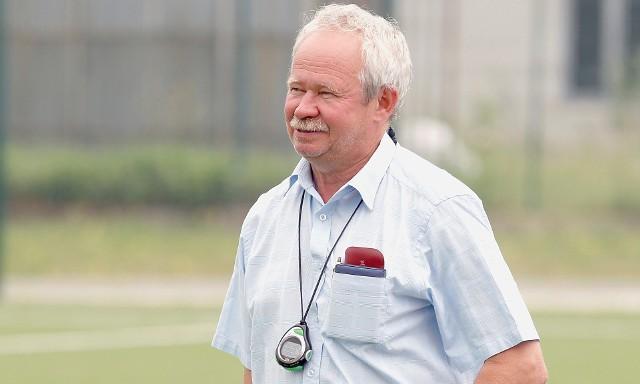 Były piłkarz Wielkiego Widzewa Krzysztof Kamiński