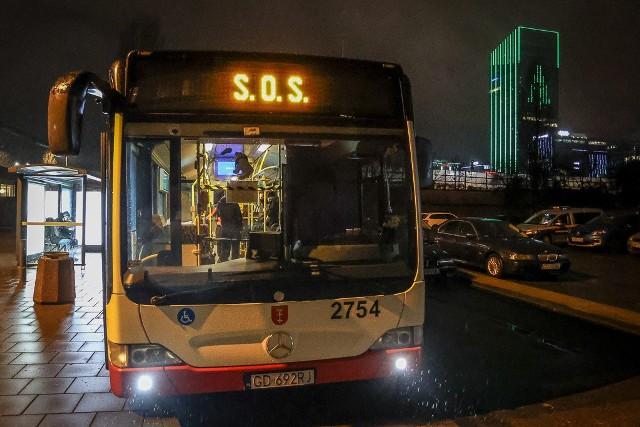 Autobus SOS w Gdańsku pomaga bezdomnym