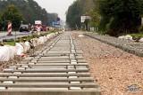 Budowa torowiska na tydzień odetnie wjazd w ulicę Sosnową