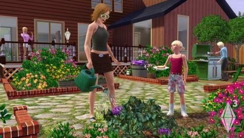 Beztroski świat Simów ciągle tętniący życiem.