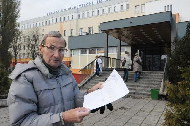 Zdzisław Sawrutin pilną operację serca będzie miał przeprowadzoną dopiero 23 marca