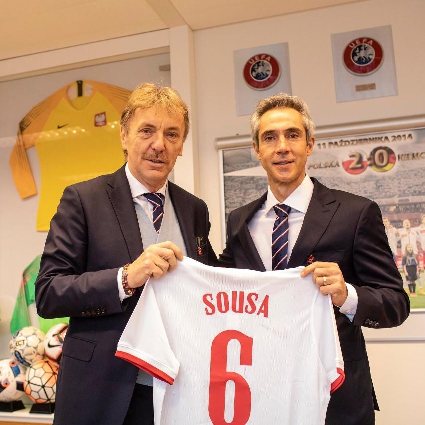 Paulo Sousa zanim spotkał się z dziennikarzami rozmawiał z...