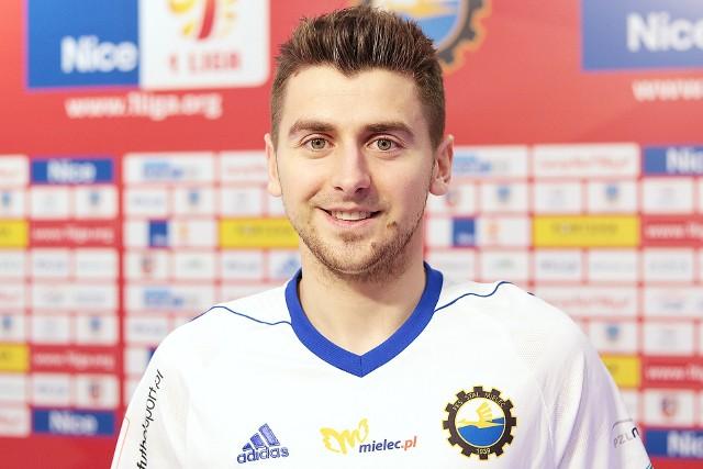 Bartosz Nowak występował już w Stali Mielec w latach 2015-2016