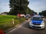 Wypadek na DK 65. Na trasie Downary - Osowiec audi zderzyło się z fordem