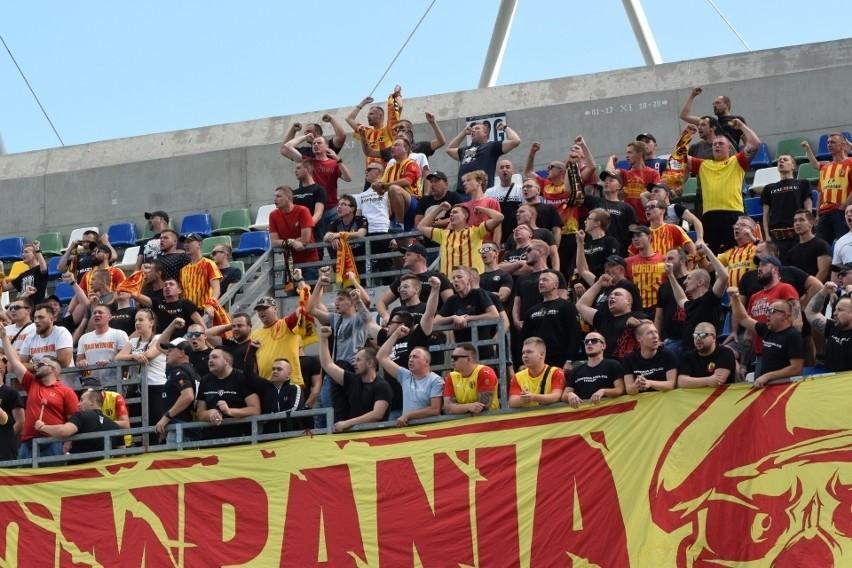Korona Kielce w sobotnim meczu Fortuna 1 Ligi wygrała na...