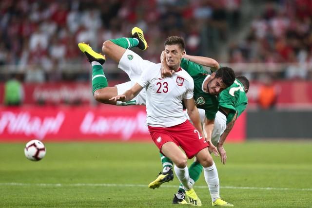 Krzysztof Piątek zadebiutował w reprezentacji w ubiegłorocznym meczu z Irlandią