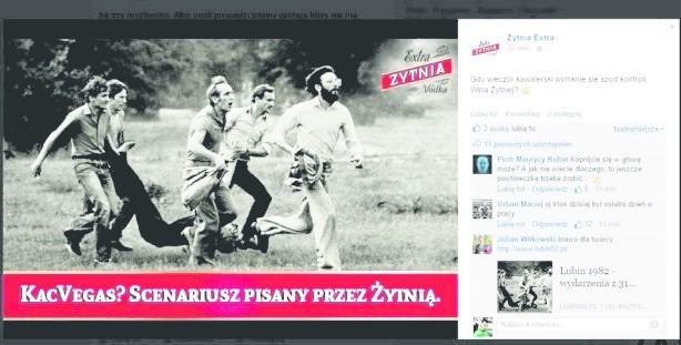 Zdjęcie, które jest ikoną oporu społecznego w czasie stanu wojennego, zostało wykorzystane do reklamy wódki. Trudno uwierzyć, że ktoś mógł dopatrzyć się na nim grupy rozbawionych ludzi