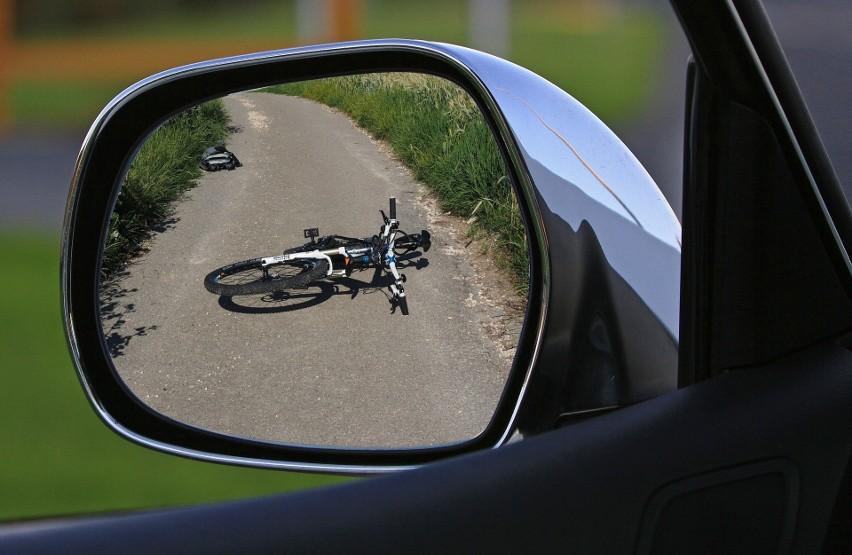 Łany Wielkie: rowerzysta zginął pod kołami volvo